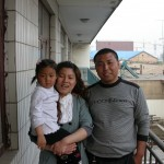 Our Driver in Bohai Mr Zhao and his family
