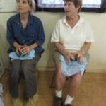 Petra de Goeij and Helen Macarthur